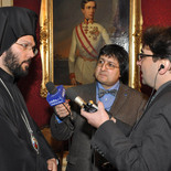 Interview mit ORF und Radio Stephansdom